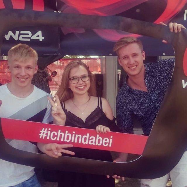 Donauinselfest 2017  Waren gerade zum Fernsehinterview bei W24 Undhellip